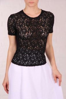Блуза из натурального стрейчевого кружева