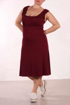 Платье свекольного цвета
